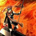 Japanese manga D Gray-man character Lavi wallpapers 1024x1024 (10)