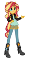 Commission sunset shimmer by mixiepie-d9sg65r