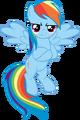 Rainbow dash vector by scrimpeh-d4n9hdo