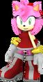 Sonic boom amy rose pose by jaysonjean-d8ywkvv