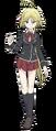 Mira Yamana Anime Character Full Body