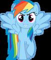 Bold rainbow dash by uxyd-d5cjm0g