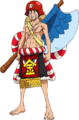 Luffy Film Gold Kintaro Outfit