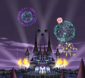 Soul Eater Episode 18 HD - Fireworks at DWMA (stitched).png