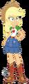 Eqg series applejack new look by ilaria122-dbtudd2