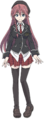 Lilith Asami Anime Character Full Body