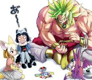 Broly common raccoon fennec metal slime and minidemon dragon quest v and etc drawn by doitsuken sample-1f70a3545e45522eca5e5d1644b96808