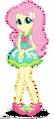 Fluttershy in her friendship games dress by superbobiann-dc09xkj