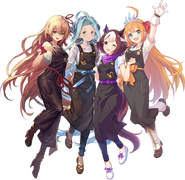 Arisa lyria pecorine and special week princess connect re dive and etc 98106bac92d1286ee1e763f16e606a8b
