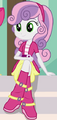 1206645 safe screencap sweetie+belle equestria+girls friendship+games cropped crossed+legs cute diasweetes sitting solo