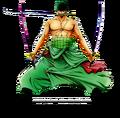 Roronoa zoro render by archer by artofarcher-d5z4wd7