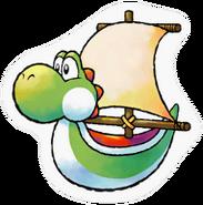 Sticker Yoshi Ship