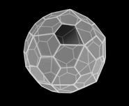 White Pentagonal Hexacontahedron