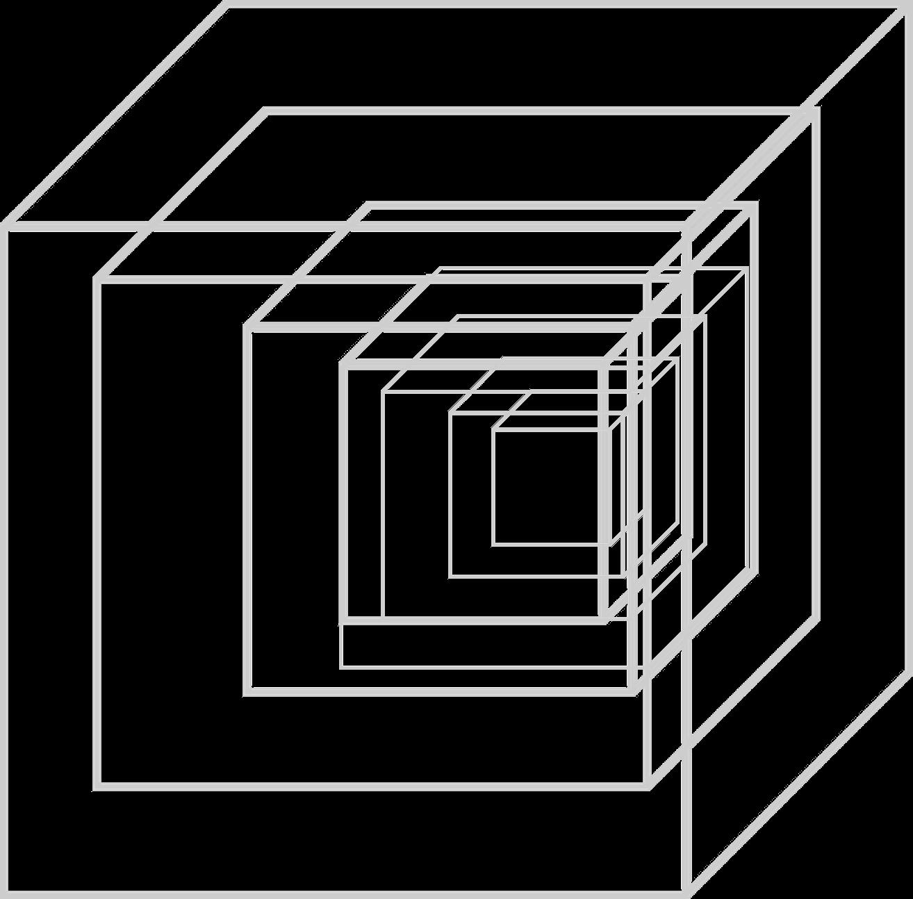 The Even Bigger Infinite Cube