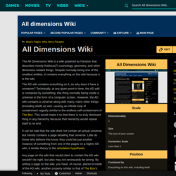 All Dimensions Wiki