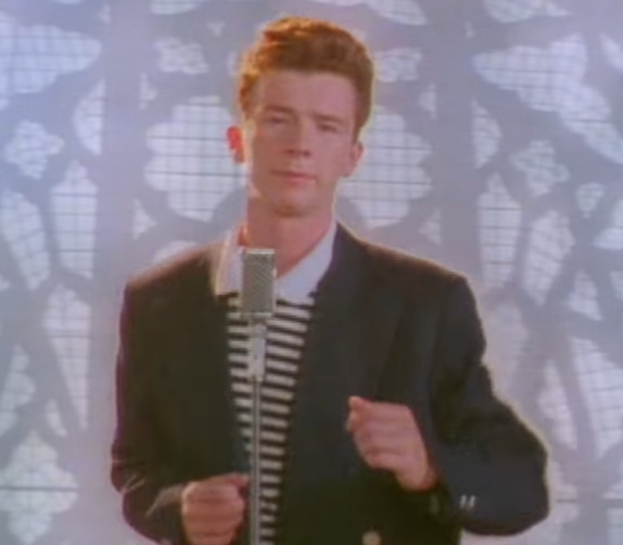 Rickroll particle
