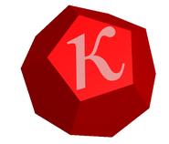 Dodecahedral Kappa Particle