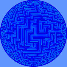 The Blue Maze