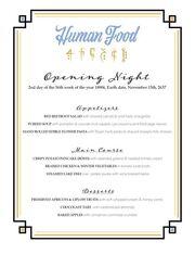 Humanfood opening night.jpg