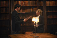 A Discovery of Witches on Sundance Now Matthew Goode & Teresa Palmer 111017 1312