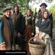 A Discovery of Witches S2 BTS 61