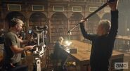 A Discovery of Witches Season 1 BTS 25