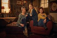 A Discovery of Witches on Sundance Now Valarie Pettiford, Teresa Palmer & Alex Kingston 2958