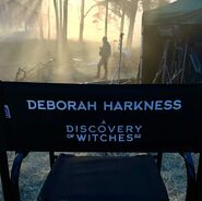 A Discovery of Witches S2 BTS 129