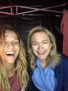 A Discovery of Witches Season 1 BTS 26