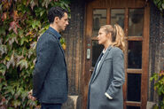A Discovery of Witches on Sundance Now Matthew Goode & Teresa Palmer 280917 0694
