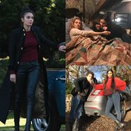 A Discovery of Witches Season 1 BTS 15