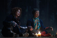 A Discovery of Witches S2 208 Alex Kingston & Valarie Pettiford 0001-3016662