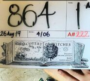 A Discovery of Witches Season 1 BTS 82