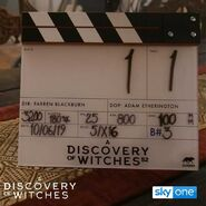 A Discovery of Witches S2 BTS 13