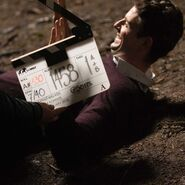 A Discovery of Witches Season 1 BTS 32
