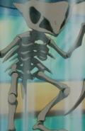 Kabutops-skeleton