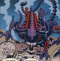Bull Alien Comic