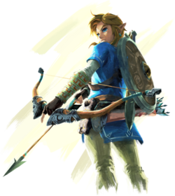 Breath of the Wild Artwork Link (Official Artwork).png