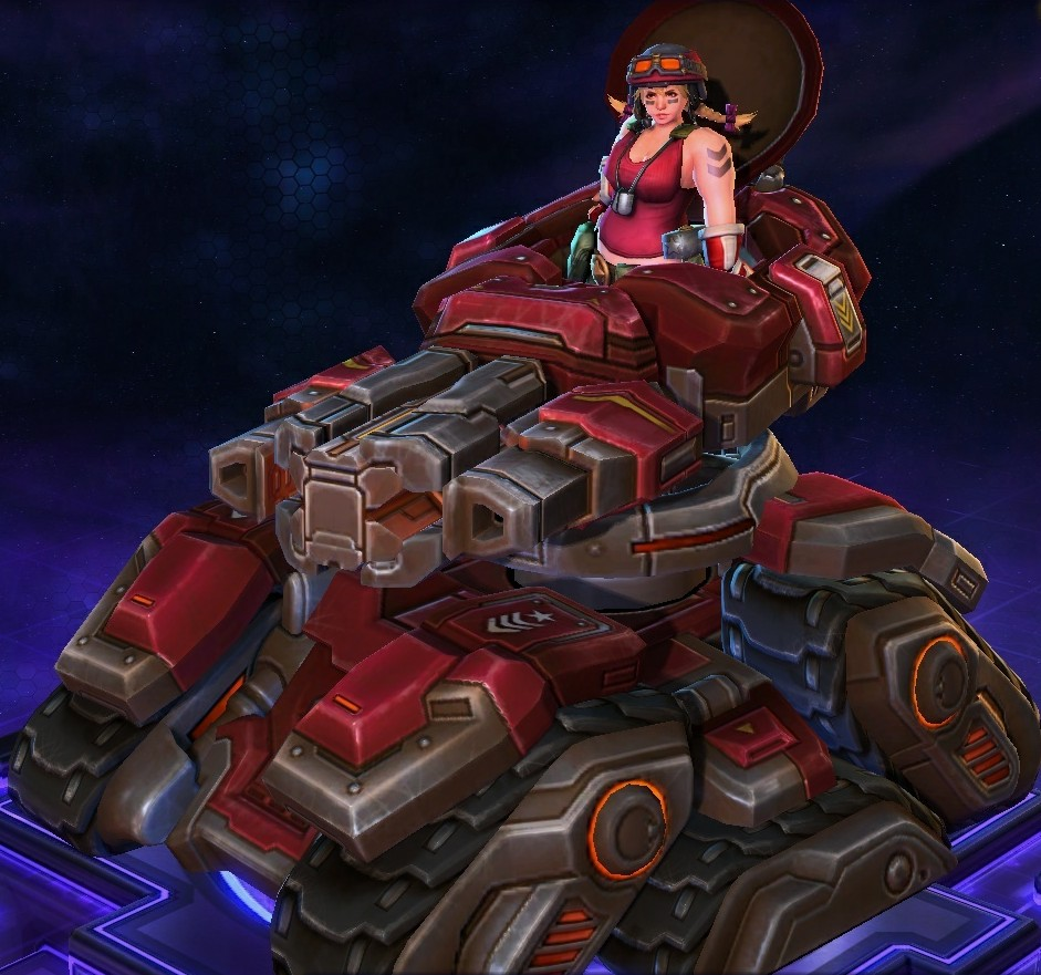 Sgt. Hammer/Skins - Heroes of the Storm Wiki