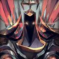 Stylized Demonic Tyrael Portrait.png