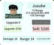 Jusuke Deployment Card
