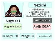 Nezichi Upgrade 1 Card