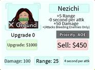 Nezichi Base Upgrade Card