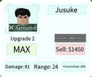 Jusuke Upgrade 2 Card