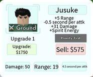 Jusuke Upgrade 1 Card