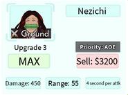 Nezichi Upgrade 3 Card