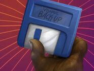 Floppy-backup