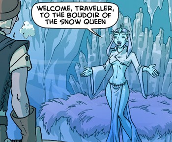 Winter Royal Lady
