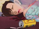 Blood-Splattered Wedding Dress