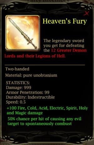 Infinity+1 Sword